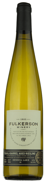 2018 Fulkerson Tequila Barrel Aged Riesling 750ml