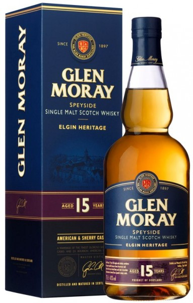 Glen Moray 15Yr Single Malt Scotch Whisky 750ml