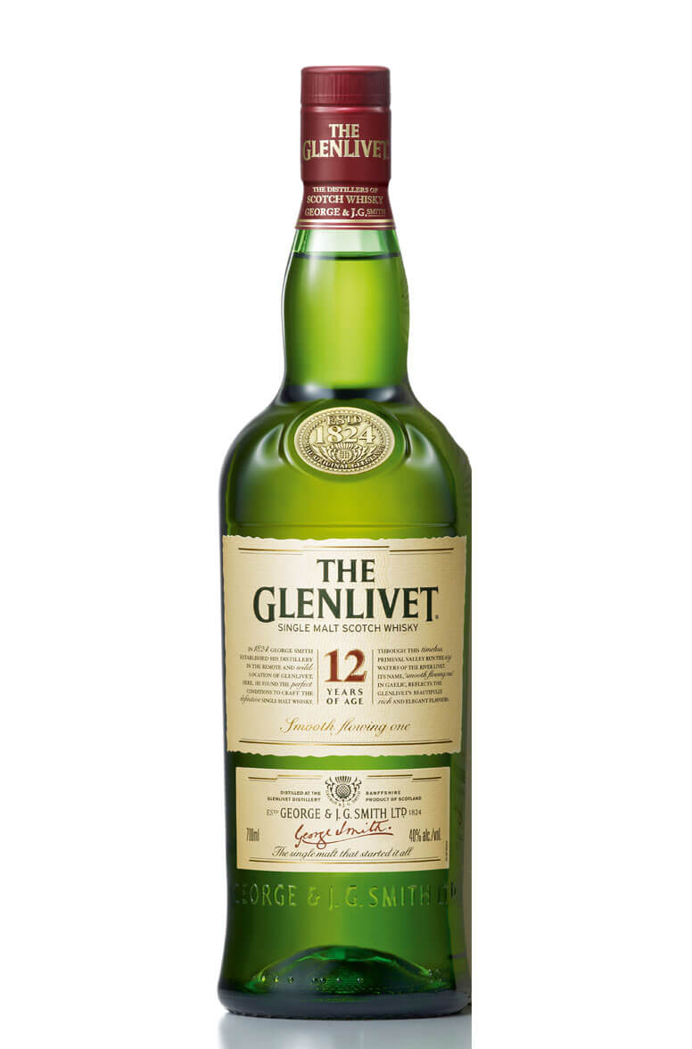 Glenlivet 12Yr Single Malt Scotch 750ml