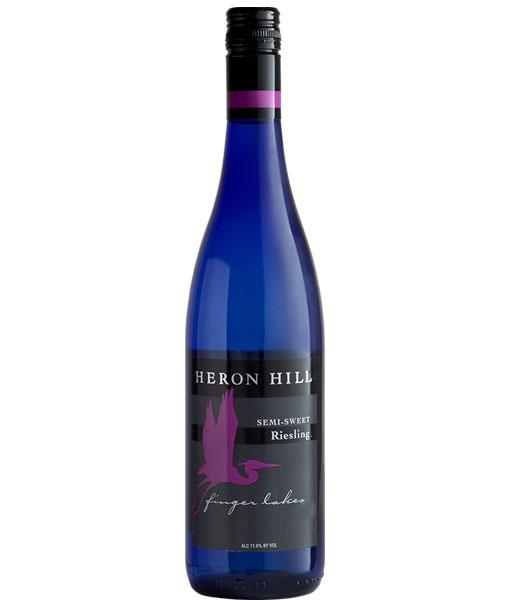2017 Heron Hill Semi-Sweet Riesling 750ml
