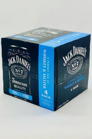 Jack Daniels 4PK Whiskey & Seltzer 12oz. Cans