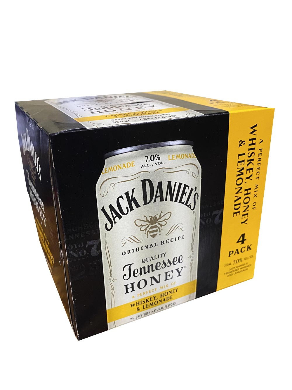 Jack Daniels 4Pk Whiskey, Honey & Lemonade 12oz. Cans