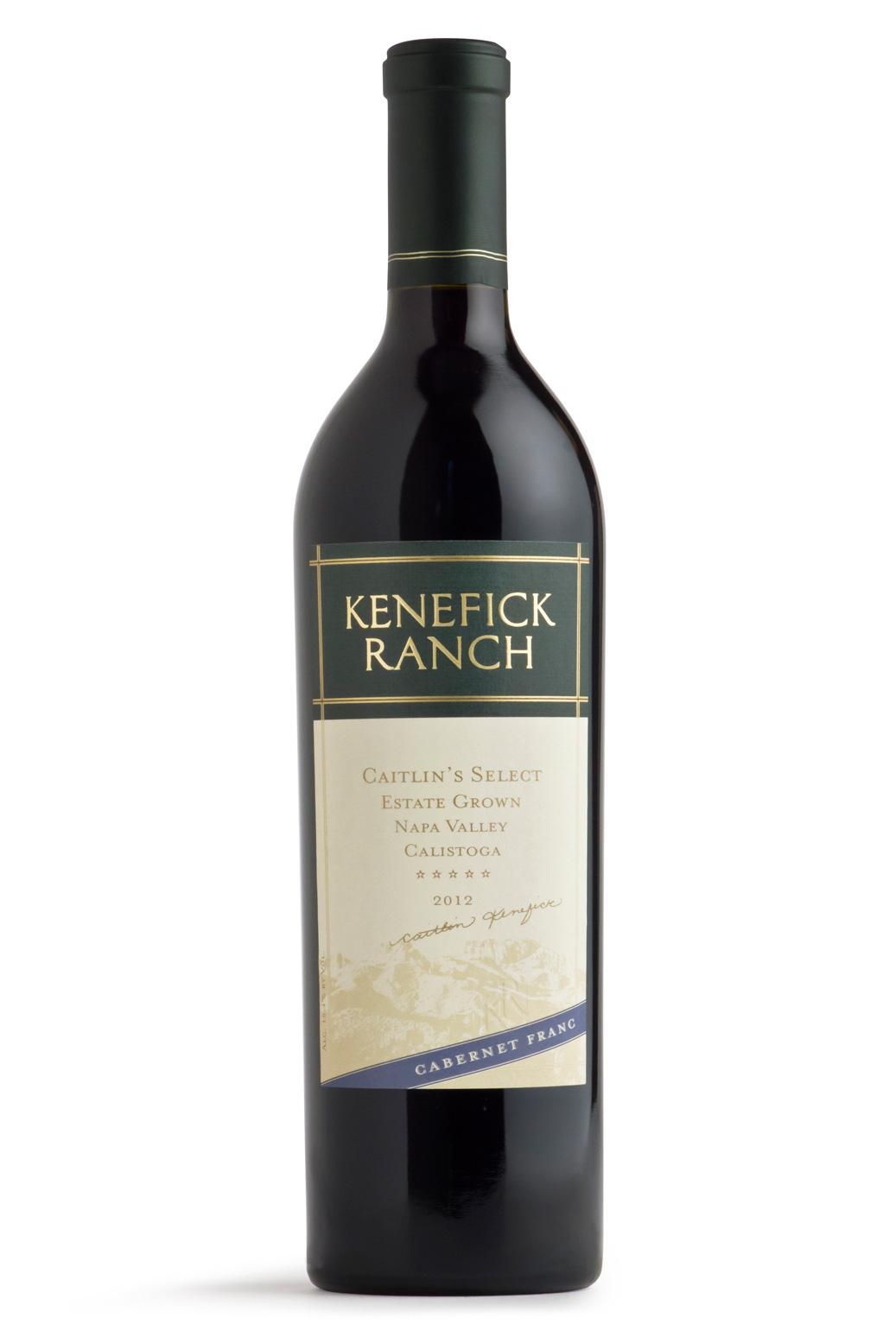 2012 Kenefick Ranch Caitlins Cabernet Franc 750ml
