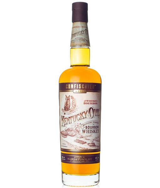 Kentucky Owl Confiscated Straight Bourbon Whiskey 750ml