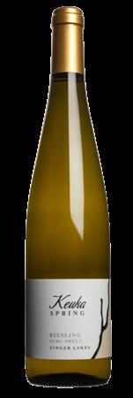 2018 Keuka Spring Semi-Sweet Riesling 750ml