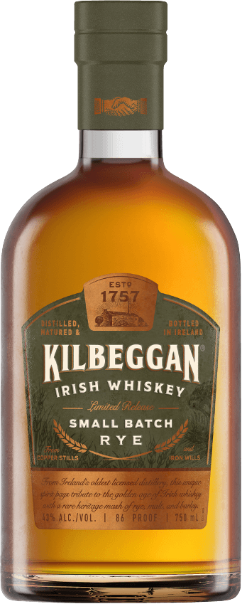 Kilbeggan Small Batch Rye 750ml