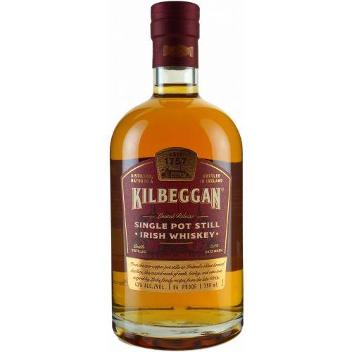 Kilbeggan Single Pot Still  Irish Whiskey 750ml