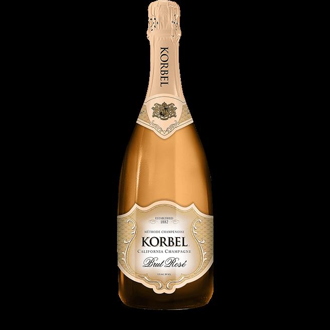 Korbel Brut Rose California Champagne 750ml NV
