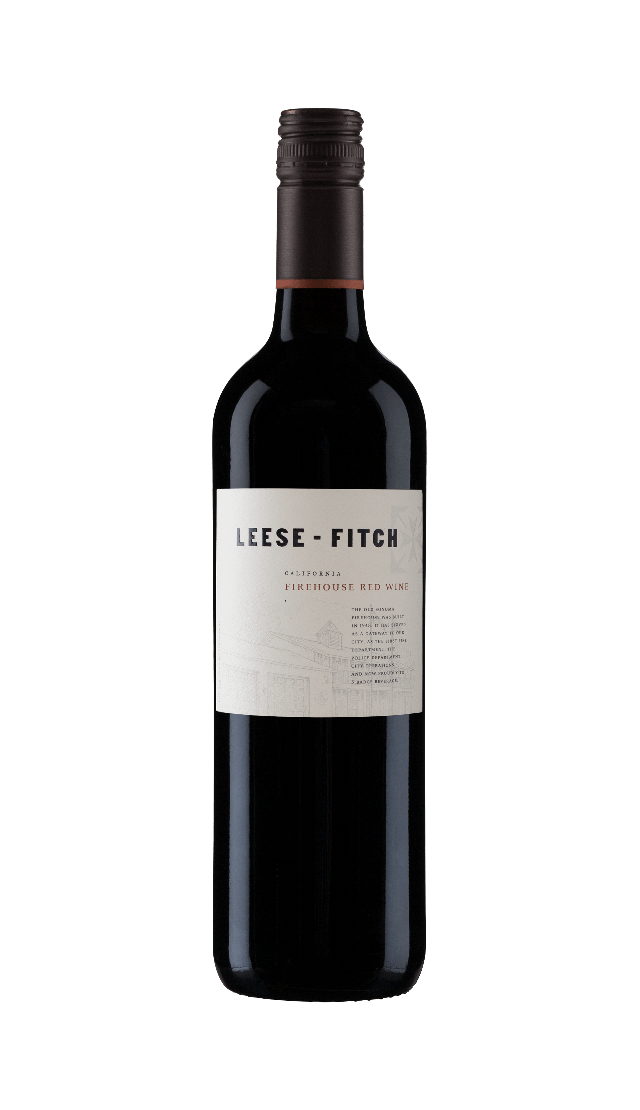 2015 Leese Fitch Firehouse Red 750ml