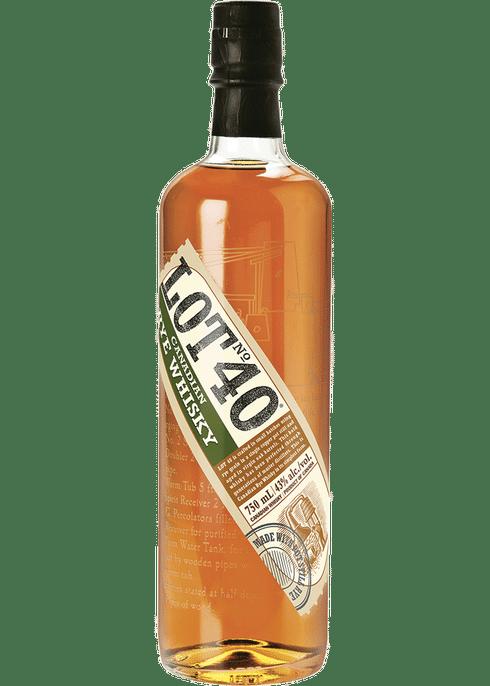 Lot 40 Canadian Rye Whisky 750ml