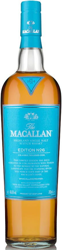 Macallan Limited Edition No. 6 Single Malt Scotch Whisky 750ml