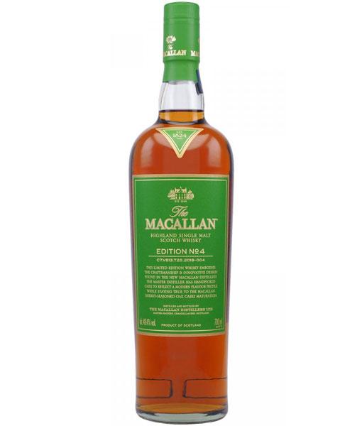 MaCallan No. 4 Limited Edition Highland Single Malt Scotch Whisky 750ml