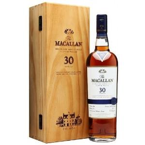 MaCallan 30Yr Sherry Cask Highland Single Malt Scotch 750ml