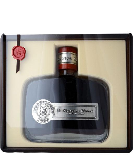 El Maestro Sierra Solera Gran Reserva Brandy 750Ml