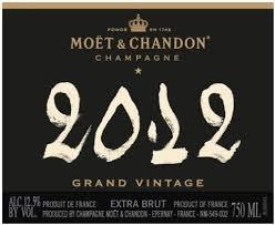 Moet Grand Vintage 2012 750ml