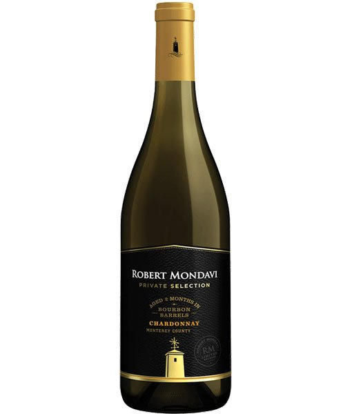 2018 Mondavi Private Selection Bourbon Barrel Chardonnay 750ml