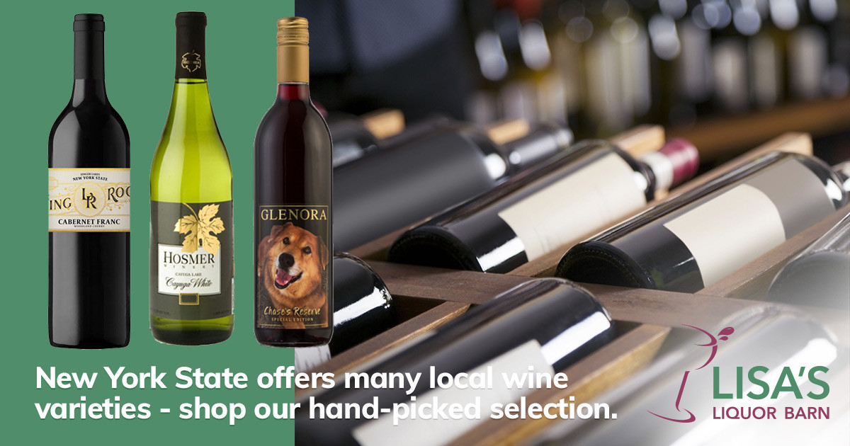 Shop Lisa's Handpicked Selection of New York State Wines