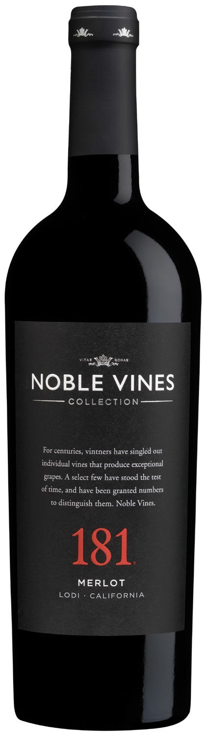 Noble Vines 181 Lodi Merlot 750ml NV