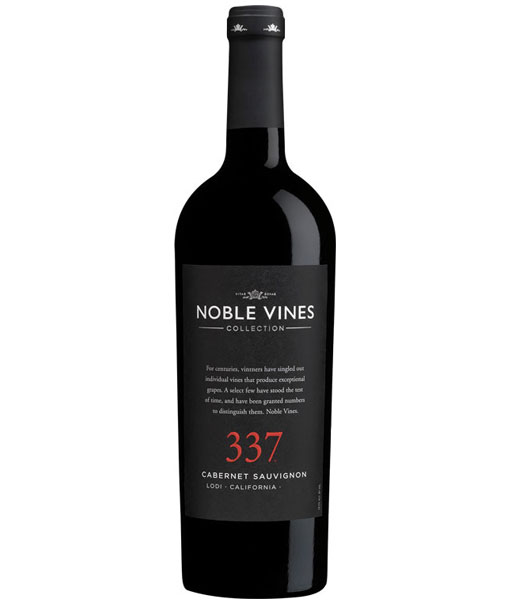 Noble Vines 337 Lodi Cabernet Sauvignon 750ml NV