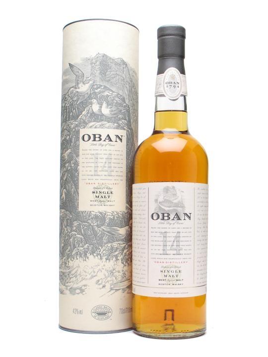 Oban 14 Year Scotch 750ml