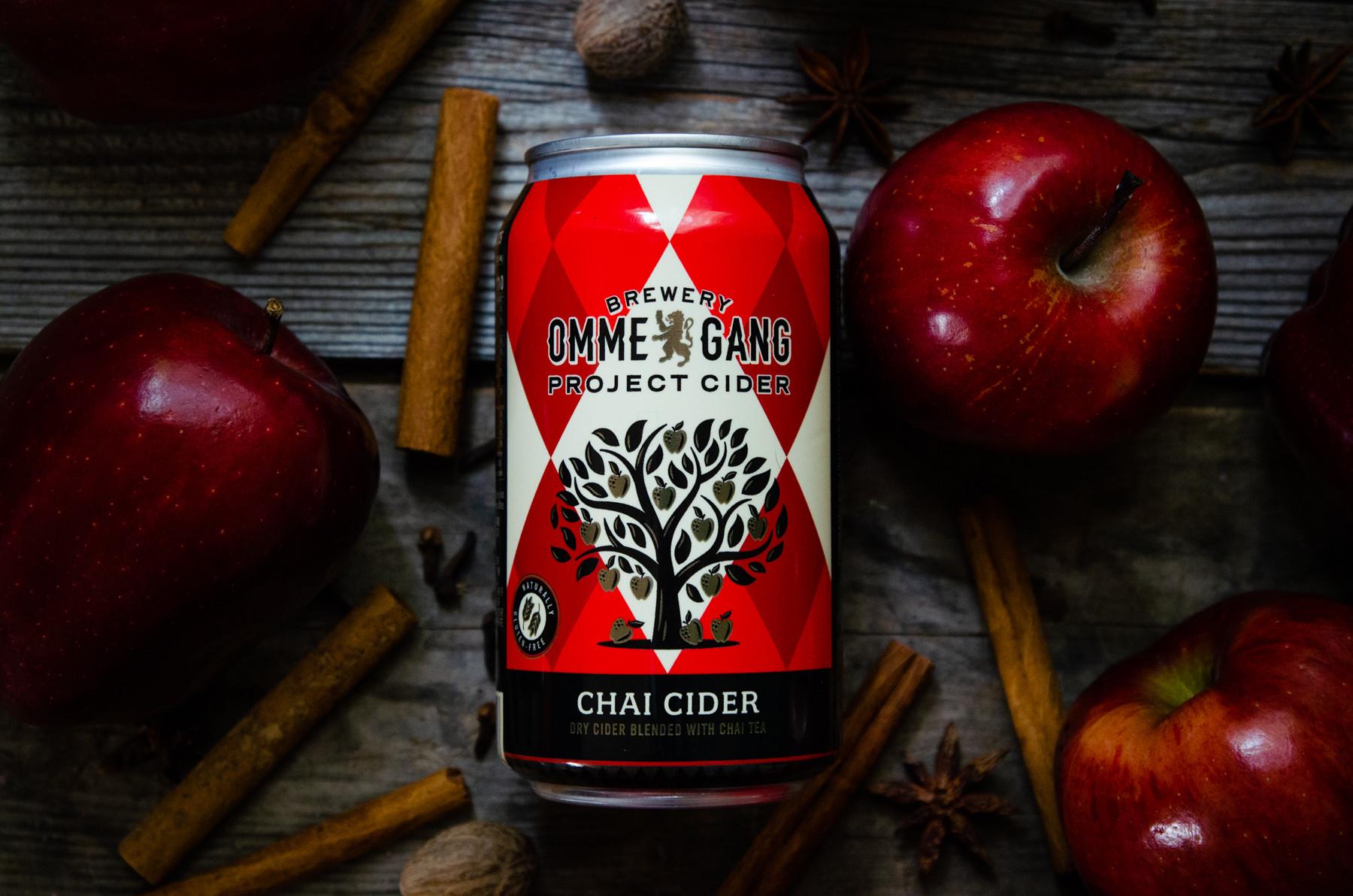 Ommegang Chai Cider 4Pk 12oz. Cans
