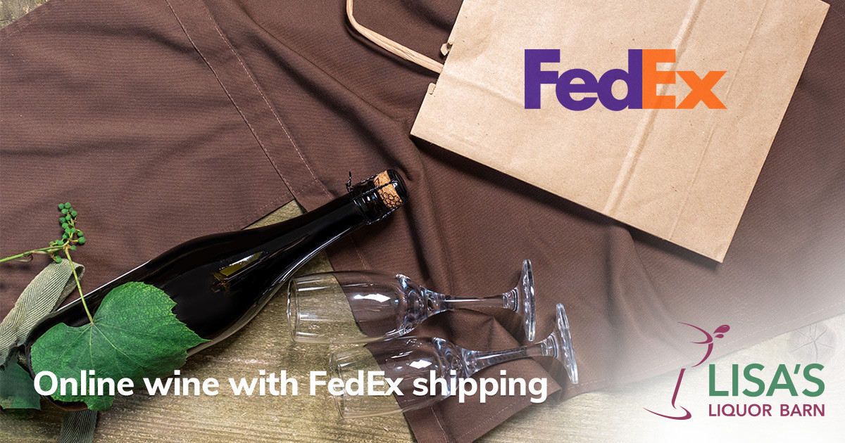 Ordering Wine Online with FedEx Shipping