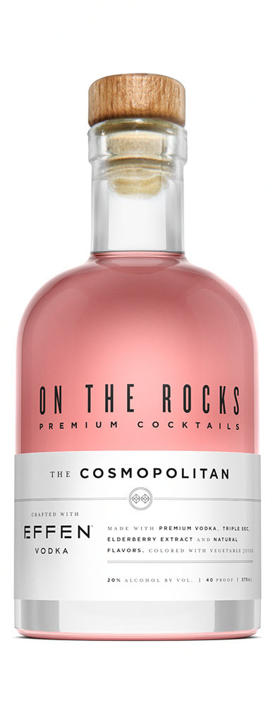 On The Rocks Cosmo made with Effen Vodka 375ml