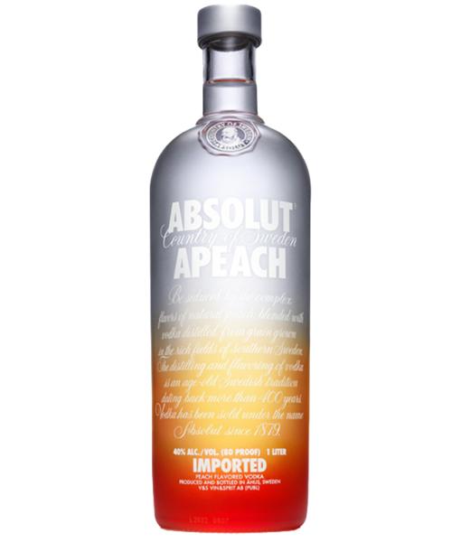 Absolut Apeach Vodka 1L