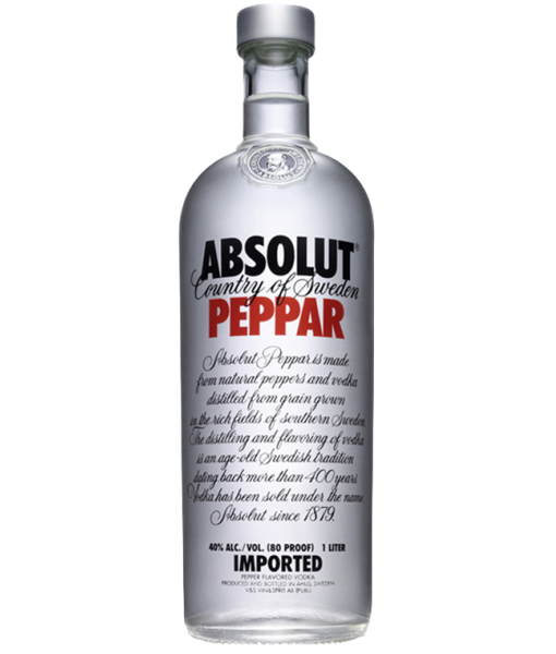 Absolut Peppar Vodka 1L