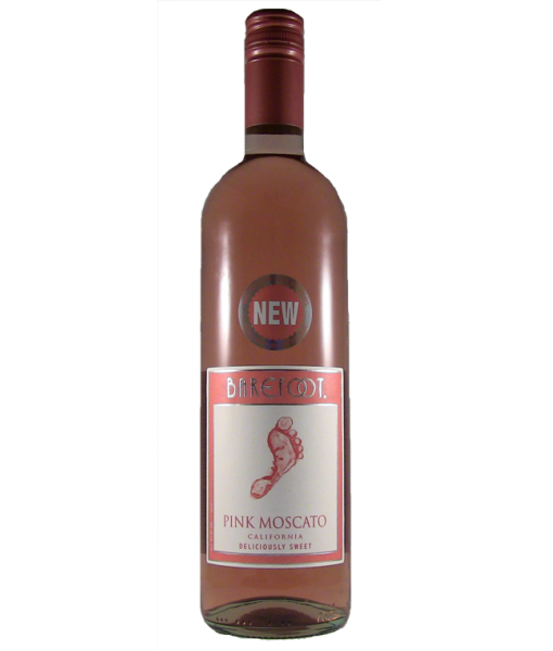 Barefoot Pink Moscato 1.5L NV