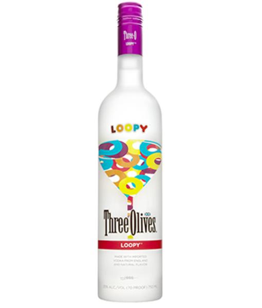 Three Olives Loopy Vodka 1L