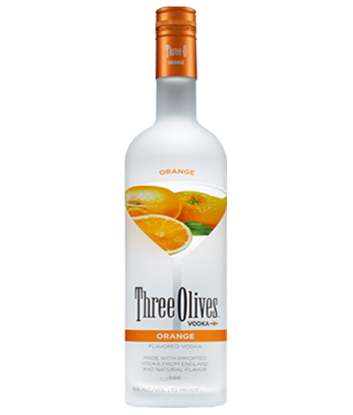 Three Olives Orange Vodka 1L