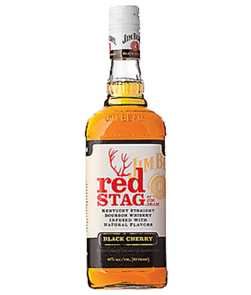 Jim Beam Red Stag Black Cherry 1L