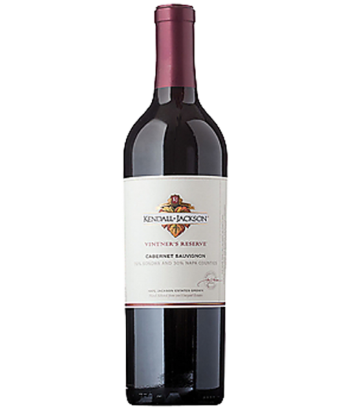 2018 Kendall Jackson Vintners Reserve Cabernet Sauvignon 750ml