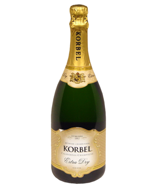 Korbel Extra Dry California Champagne Nv