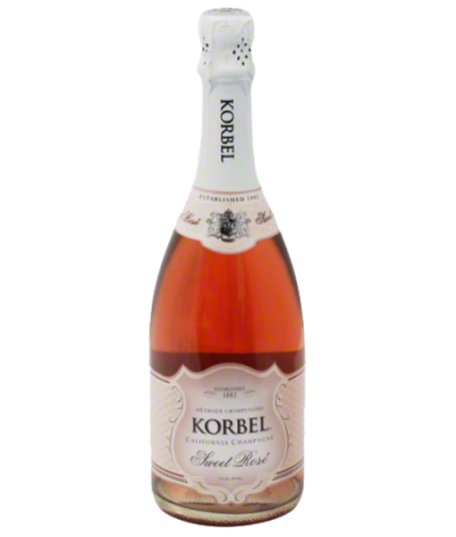 Korbel Sweet Rose California Champagne Nv