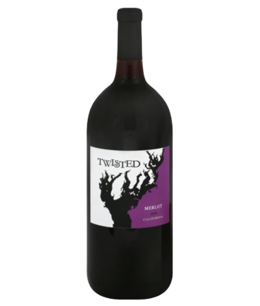 Twisted Merlot 750Ml