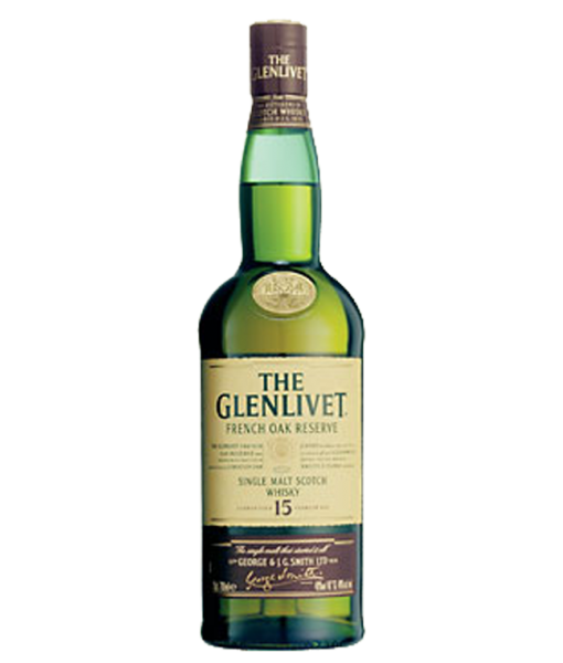 Glenlivet 15Yr Frenck Oak Single Malt Scotch 750ml