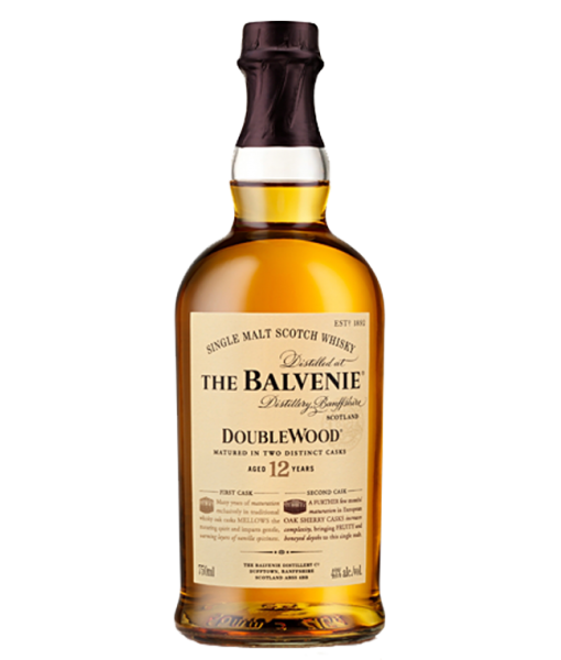 Balvenie 12Yr Doublewood Highland Single Malt Scotch 750ml