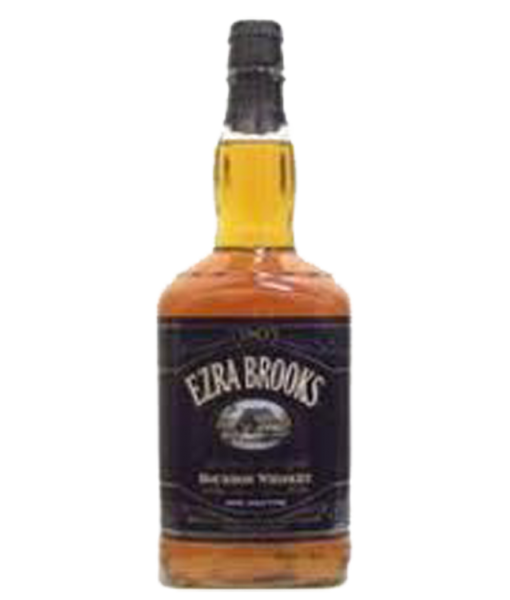 Ezra Brooks 90 Proof Bourbon Black Label 1.75L
