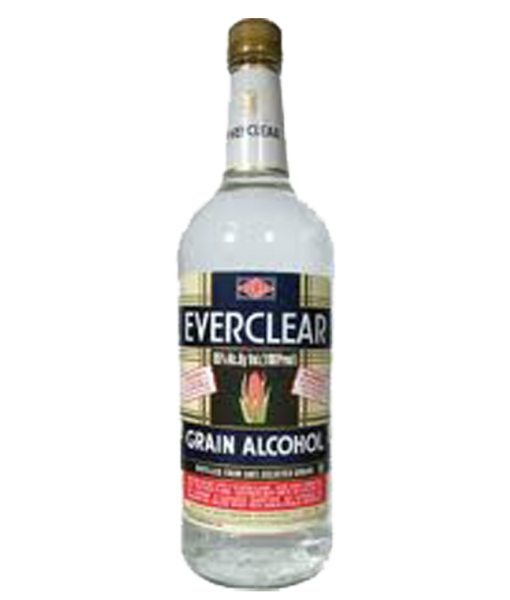 Everclear Grain Alcohol 1L