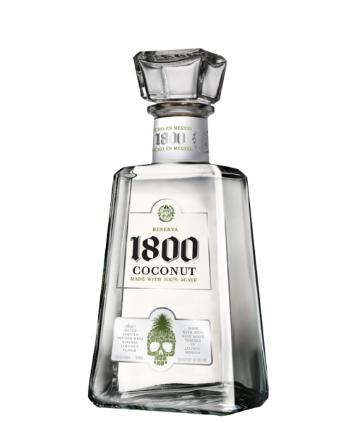 1800 Coconut Flavored Tequila 1L