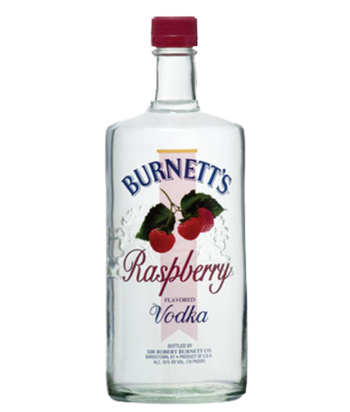 Burnett's Raspberry Vodka 1L