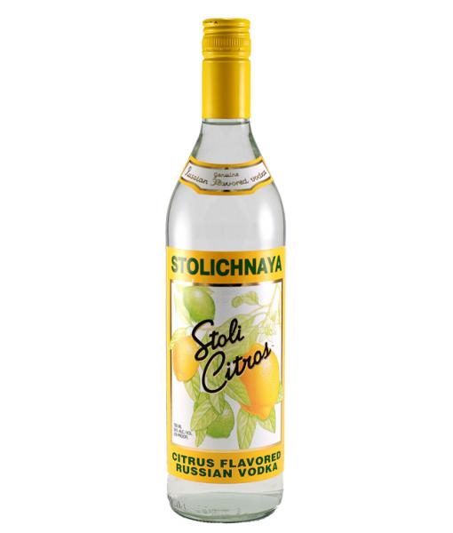 Stolichnaya Citros Vodka 1L