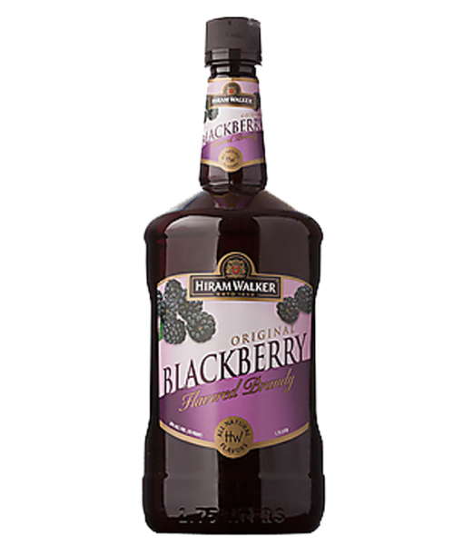 Hiram Walker Blackberry Brandy 1.75L