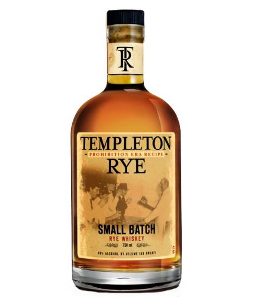 Templeton Small Batch Rye Whiskey 750ml
