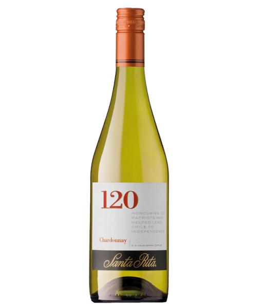 Santa Rita 120 Chardonnay 750Ml NV