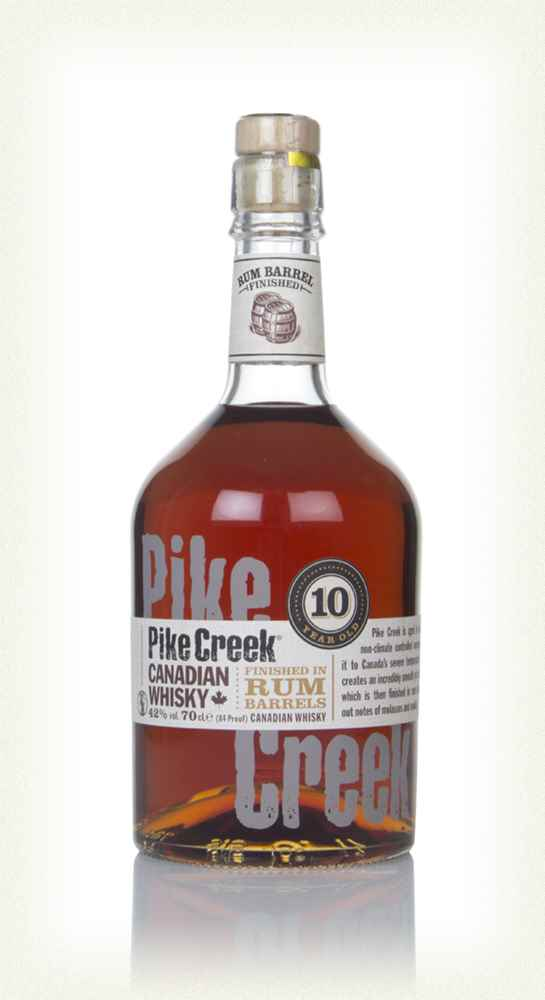 Pike Creek 10Yr Canadian Whisky Finished in Rum Barrels 750ml