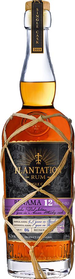 Plantation Single Cask 2018 Panama 12Yr Rum 750ml