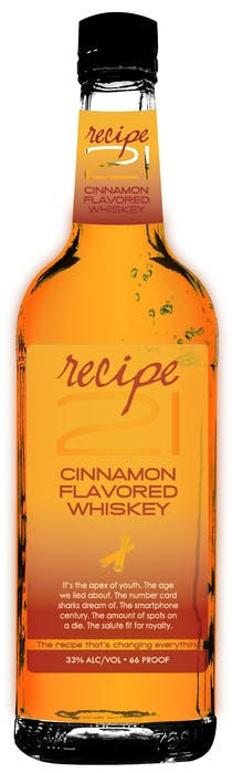 Recipe 21 Cinnamon Flavored Whiskey 1.75L